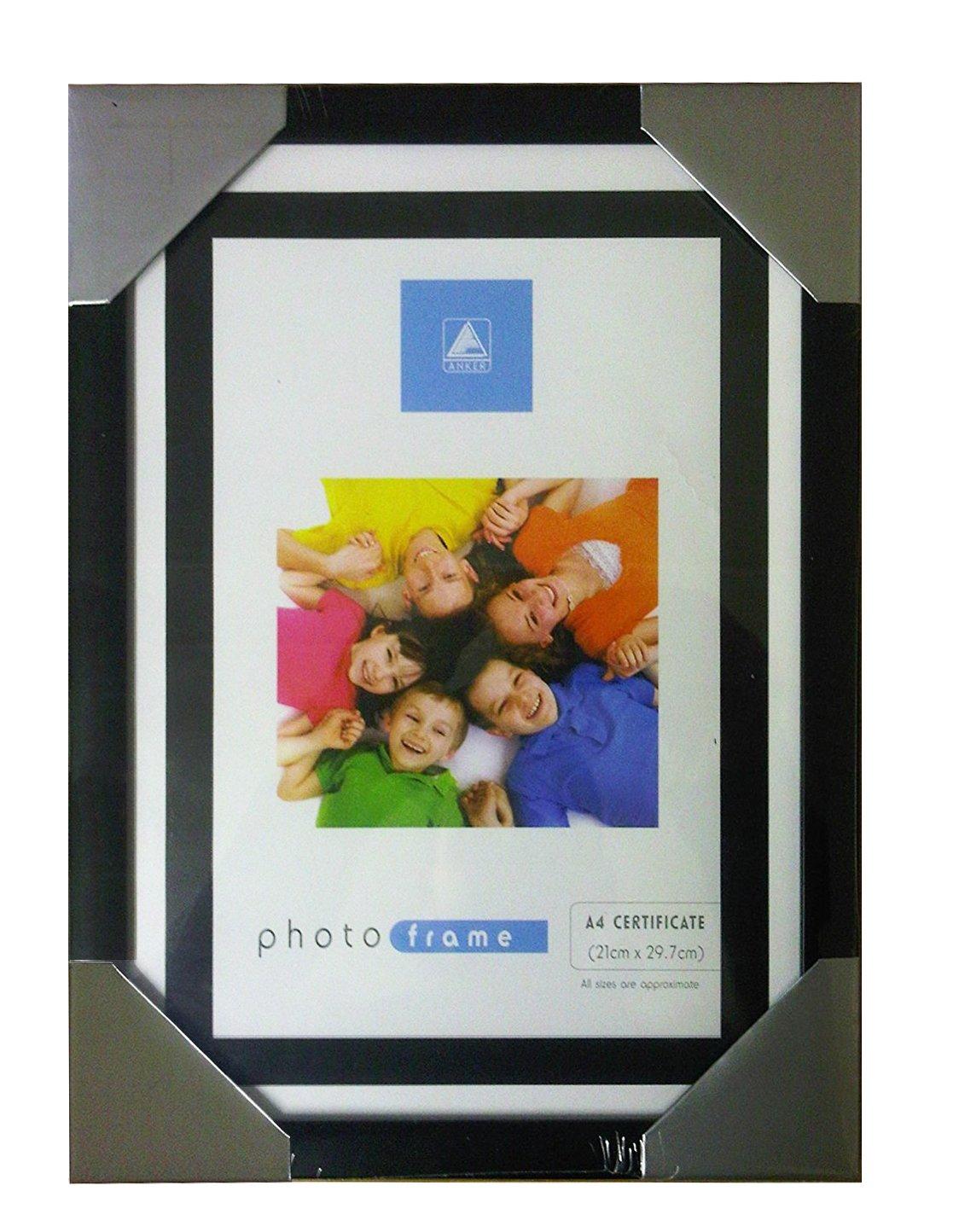 Amazon.com - A4 Certificate Photo Picture Frame BLACK -