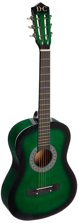"Gig Bag Strap 38/"" GREEN Acoustic Guitar Starters Beginner Package Guitars 2"