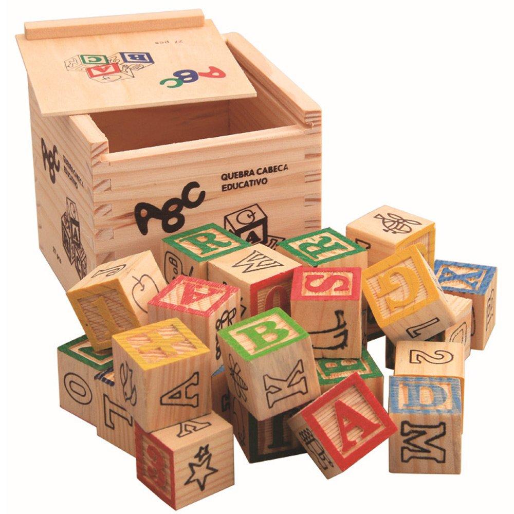 【オンライン限定商品】 Sarcha木製アルファベットブロックfor Alphabet Kids ABC/123木製キューブ図ブロック27pcs Kids Alphabet Building B07CZFM2FZ Blocks B07CZFM2FZ, 大仁町:f11de8b1 --- a0267596.xsph.ru
