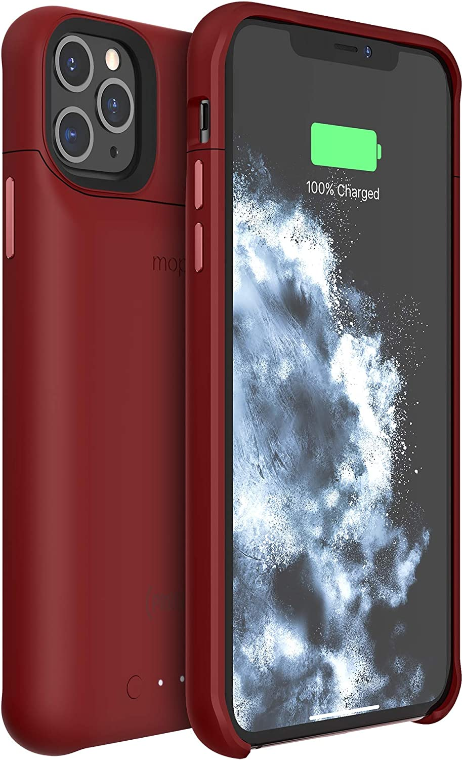 Mophie 401004408 Juice Pack Access - Ultra-Slim Wireless Charging Battery Case - Made for Apple iPhone 11 Pro Max - Product(Red)
