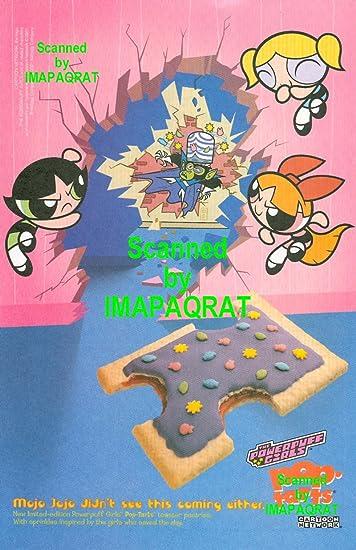 powerpuff girls pop tart bubbles blossom buttercup mojo jojo cartoon