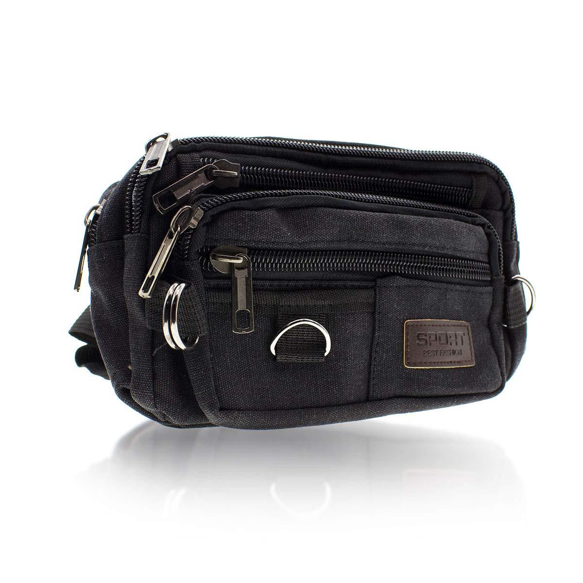 Amazon.com   Black Fanny Pack Bag for Men and Women