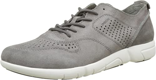 Geox U Brattley A, Sneakers Basses Homme