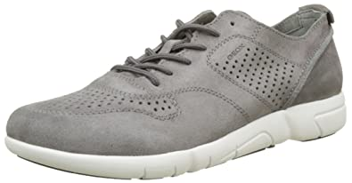 Geox U Walee A, Sneakers Basses Homme, Jaune (Ochreyellow), 46 EU