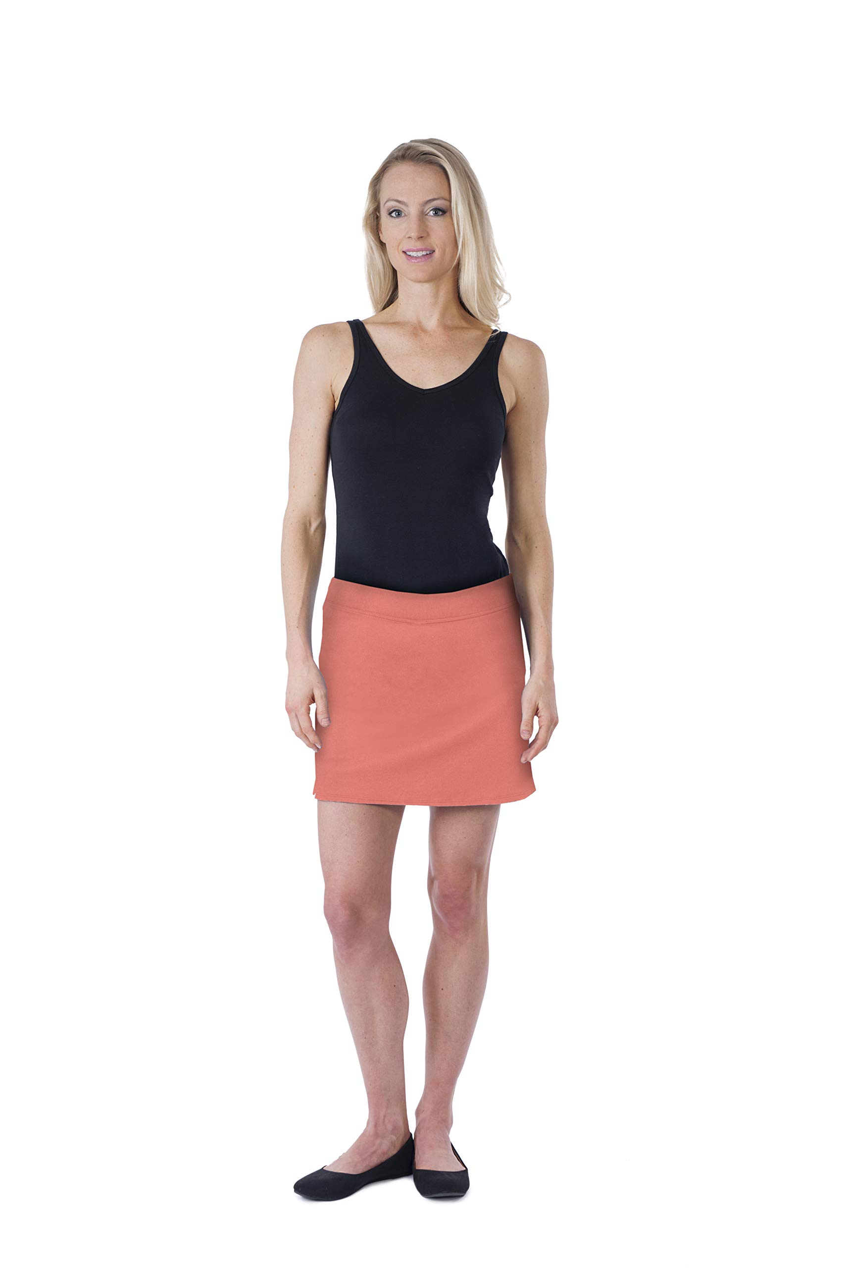 Colorado Clothing Women's Everyday Skort (Nectarine, X-Small)