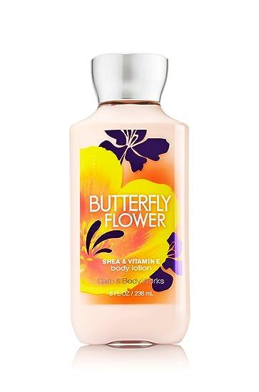Amazoncom Bath Body Works Butterfly Flower 80 Oz Body Lotion