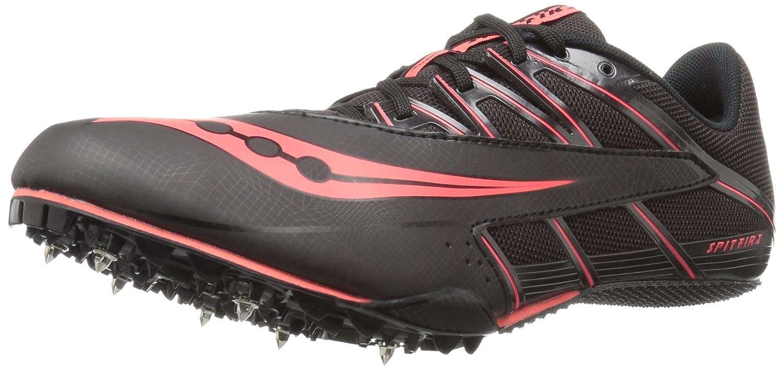 Saucony Men's Spitfire 4 Track Shoe B01DAX4AOA 9 D(M) US|Black/Red