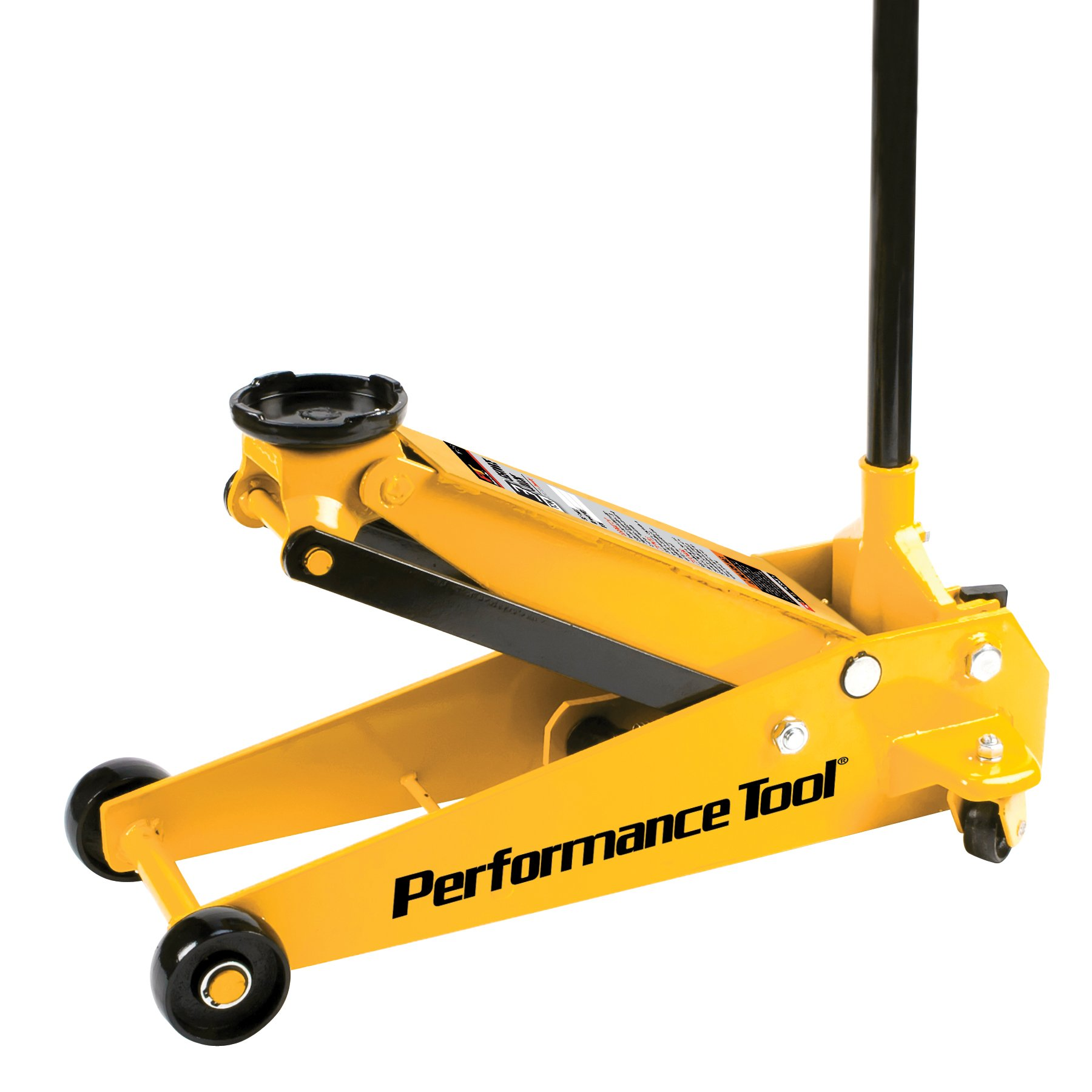 Performance Tool W1617 Yellow 3 Tons Garage Jack, 1 Pack by Performance Tool