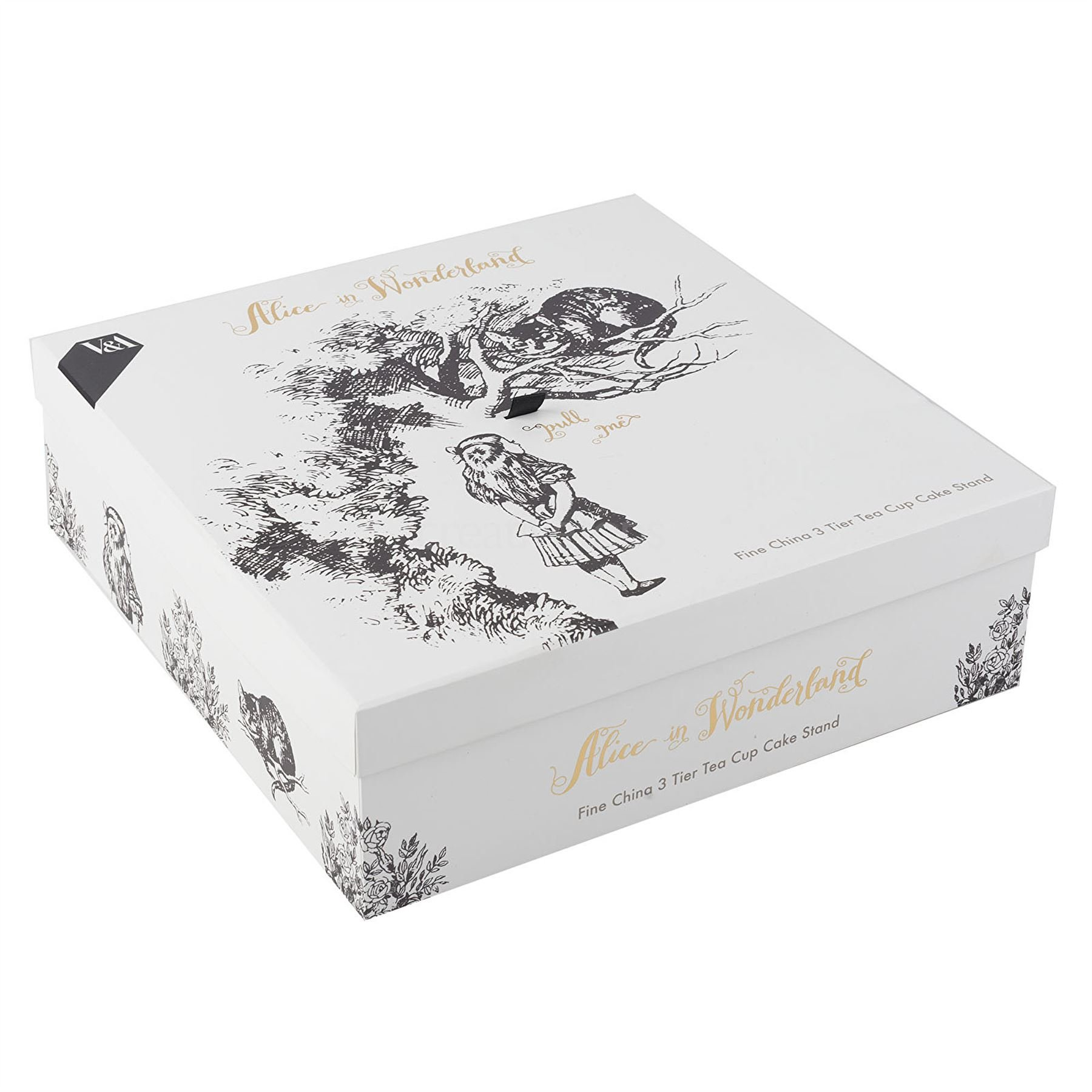 Creative Tops V&A Alice in Wonderland 3 Tier China Teacup Cake Stand Gift Boxed by CreativeTops (Image #2)