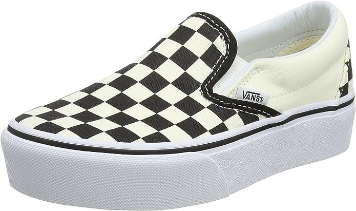 Vans Damen Classic Slip on Platform Slip On Sneaker