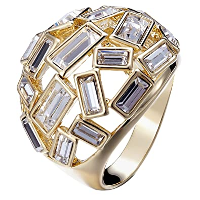 [Sponsored]FAPPAC Bold Statement Ring Enriched with Swarovski Crystals O9fApZF