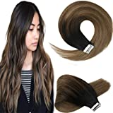 [Nuevo Producto]Sunny Tape Hair,Extensiones de Cabello Balayage Adhesivas, Puede Ser Reutilizado Extensiones Naturales Tape C