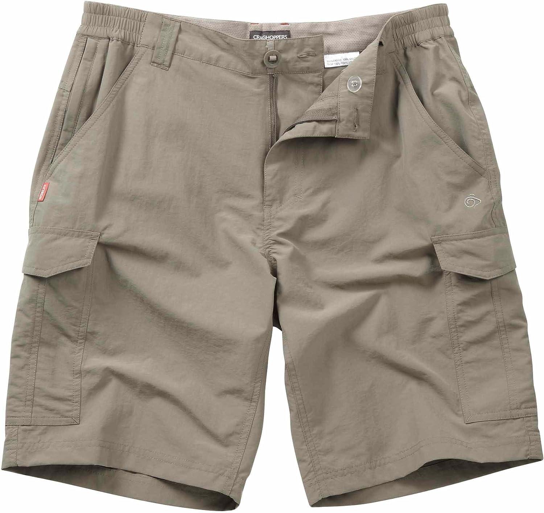 Craghoppers Men's Cr151 NosiLife Cargo Shorts Bark