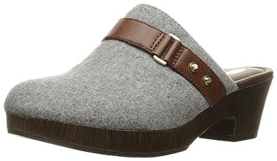 Dr. Scholl's Shoes Women's Jessa Mule, Light Grey/Whiskey, ...
