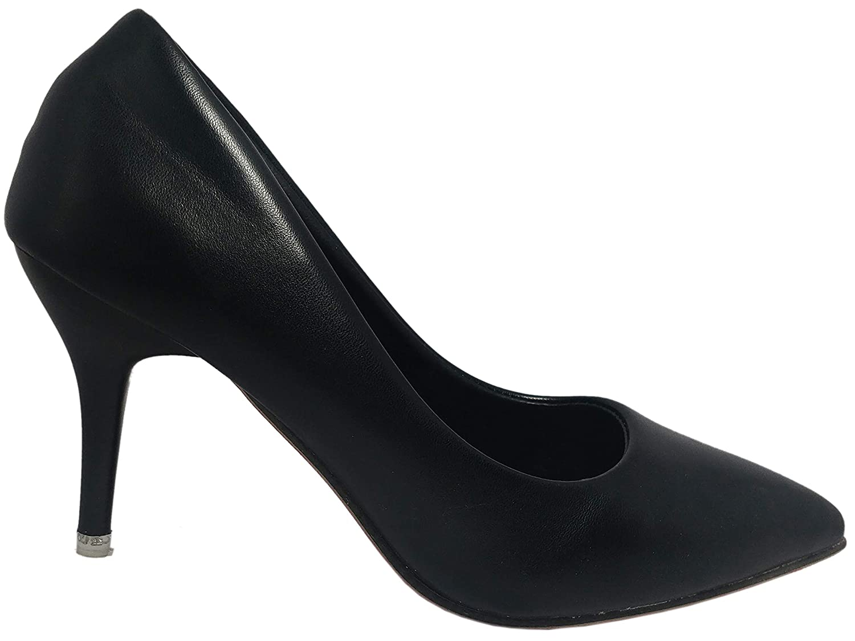 Buy Luvora Pencil Heels (5, Black) at