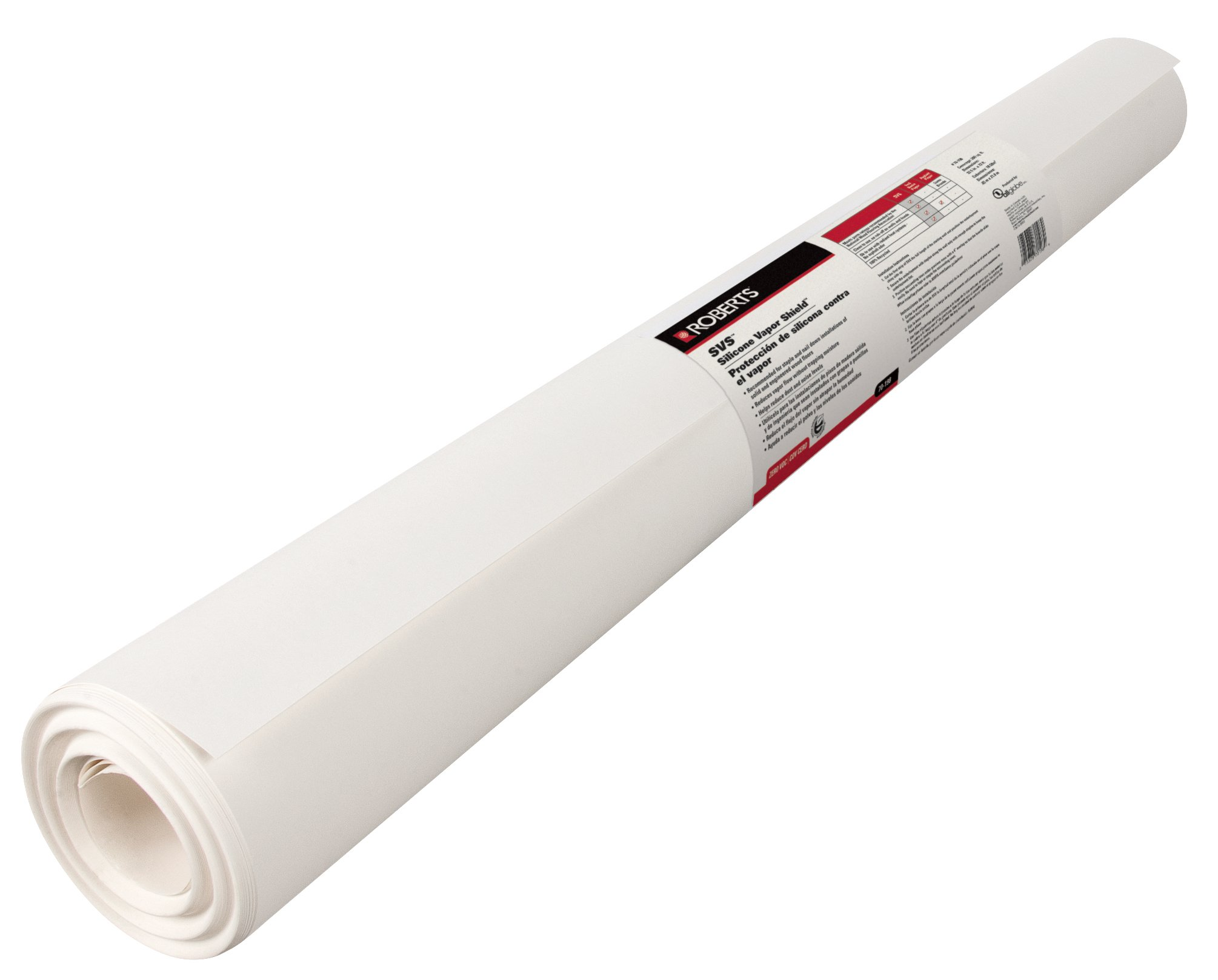 Roberts 70-198 Roll of Silicone Vapor Shield Underlayment for Wood Floors, 200 sq.-Feet