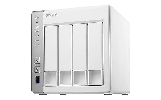 QNAP TS-431P2 NAS Torre Ethernet Blanco - Unidad Raid (Unidad de Disco Duro, SSD, Serial ATA II, Serial ATA III, 2.5/3.5