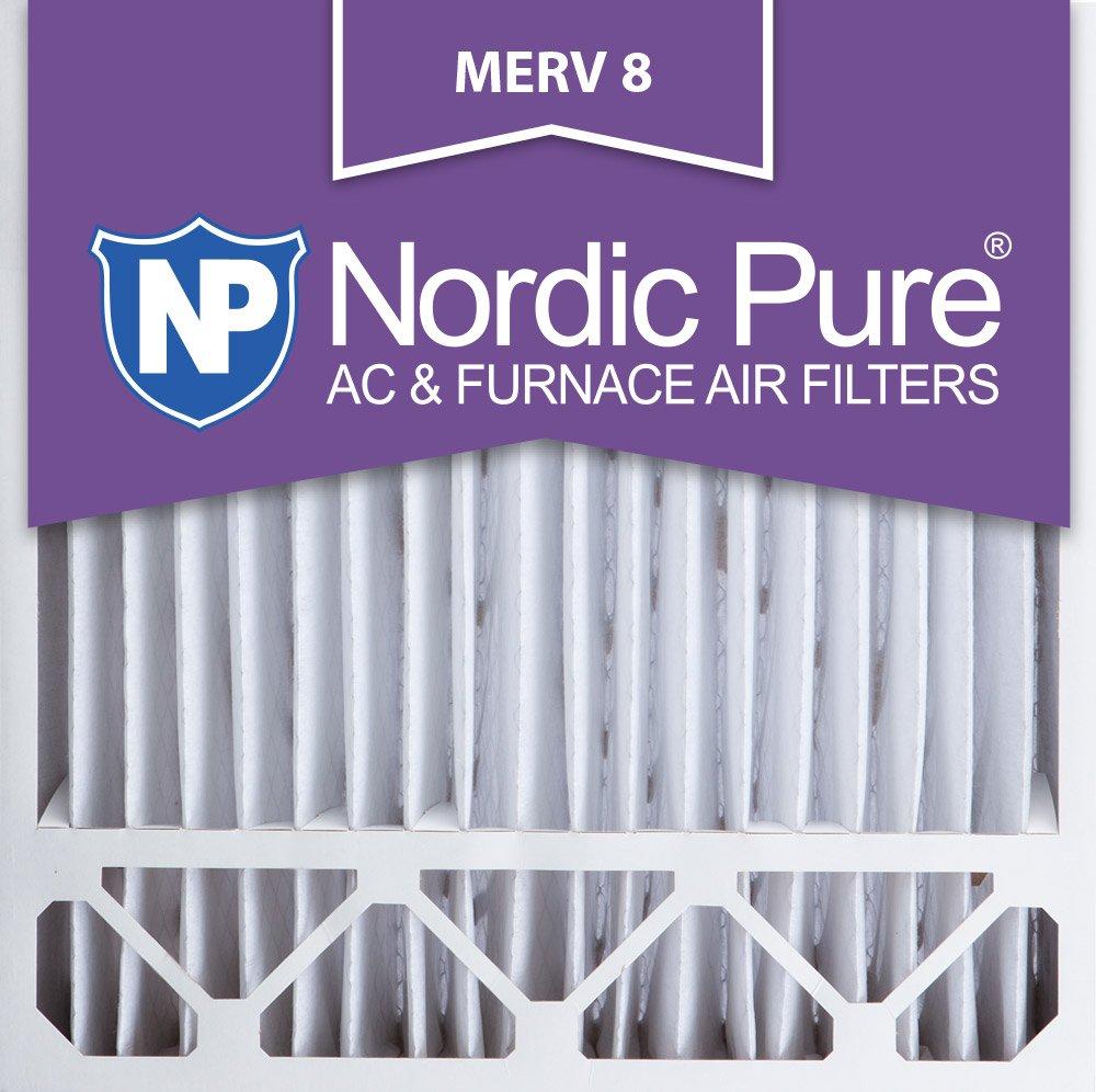 Nordic Pure 20 x 20 x 5hm8 – 1 MERV 8 Honeywell交換用エアフィルタ、ボックスの1 20x25x5 20x20x5HM8-1 1 B007VABLAK   20x25x5