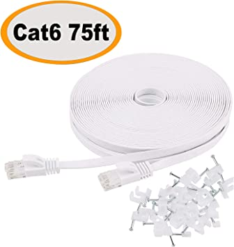 Electronics 75 Cat6 Patch Solid Conductor Computer