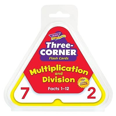 TREND Enterprises, Inc. T-1671BN Multiplication and Division Three-Corner Flash Cards, 3 Sets: Industrial & Scientific [5Bkhe1106291]