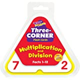 Multiplication and Division Three-Corner® Flash Cards
