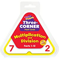 Trend Enterprises Multiplication and Division 3 Corner Flash Cards
