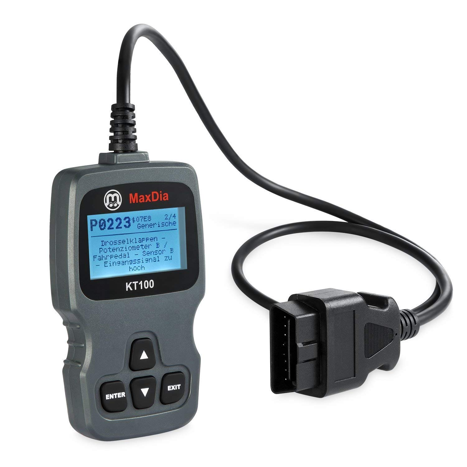 AutoDia SX40 Can Bus Diagnostic OBD2 EOBD Scanner Handscanner in German Language