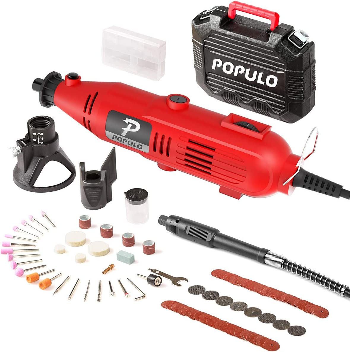 Populo High-Performance Rotary Tool Kit
