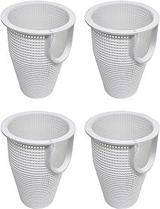 Pentair IntelliFlo WhisperFlo Pool Pump Strainer Basket Replacements (4-Pack)