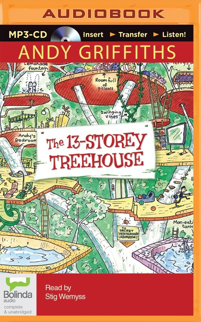 Andy Griffiths Treehouse Part - 22: The 13-Storey Treehouse: Amazon.co.uk: Andy Griffiths, Terry Denton, Stig  Wemyss: 9781486217250: Books