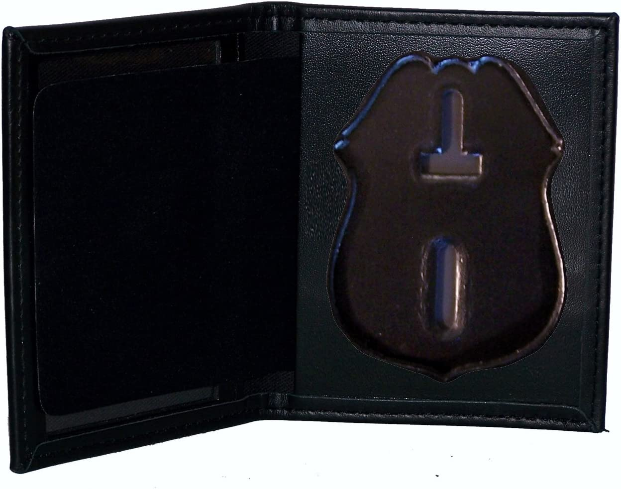 Badge Not Included Nassau County Police NY Officer/'s Badge Cut-Out Belt Clip