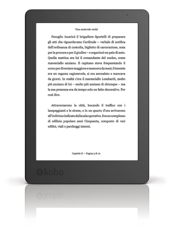 Kobo Aura - eBook reader - 4 GB - 6''(N236-KU-BK-K-EP)