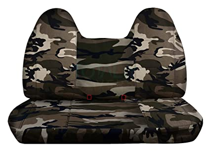 Strange Designcovers 1999 2004 Ford F 150 Camo Truck Seat Covers Front Solid Bench With Molded Headrests Tan Beige Camouflage 16 Prints 2000 2001 2002 Dailytribune Chair Design For Home Dailytribuneorg