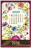 Orange Circle Studio 2018 Wood Block Desk Calendar, Flora and Fauna