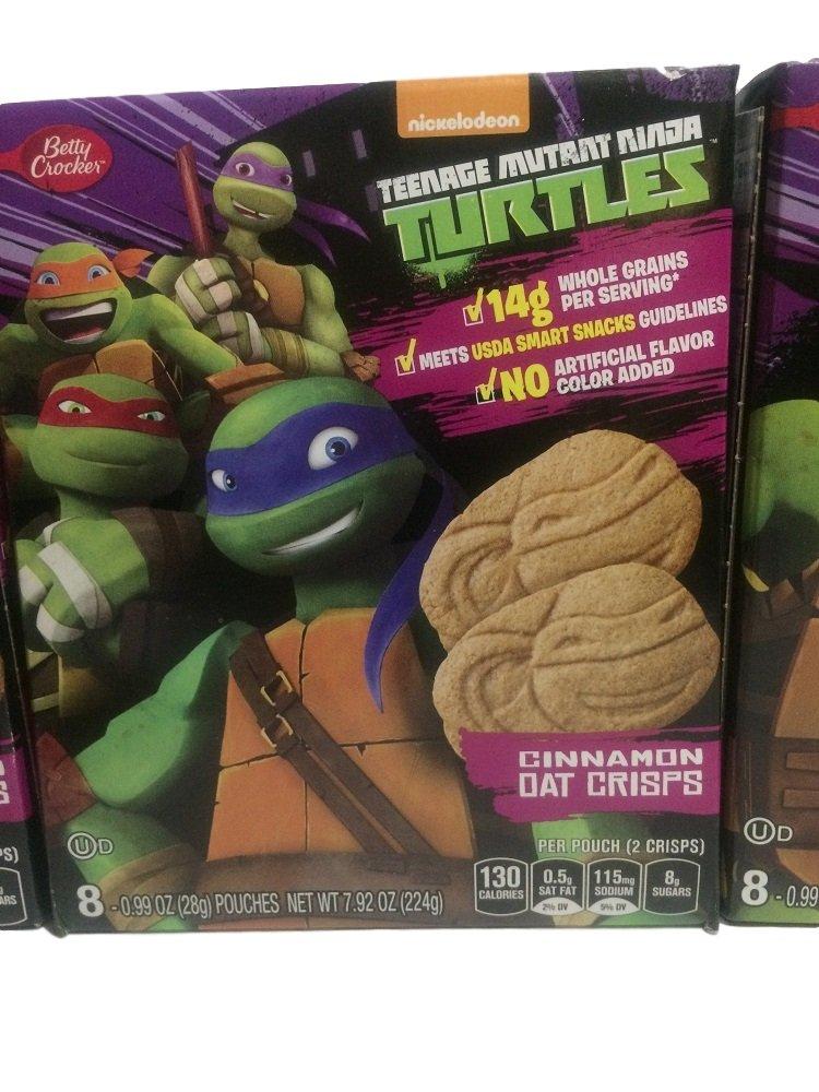 Amazon.com: Betty Crocker Snacks Nickelodeon Teenage Mutant ...