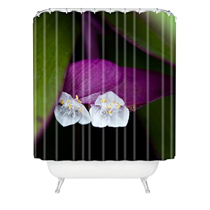 Deny Designs Bird Wanna Whistle Flower 1 Shower Curtain 69quot