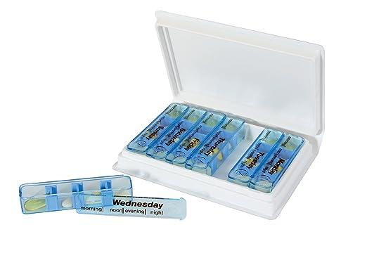 Medimemo 7 Day Pill Organiser Medi Dispenser