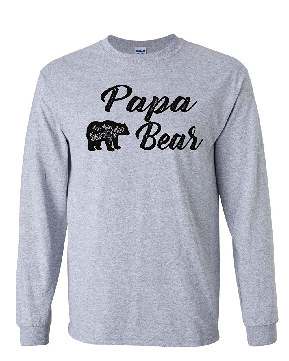 Papa Bear Tshirt For Dad Fathers Day Protector Of The Family Tee