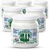 Charlie's Soap 查利洗涤剂 环保洗衣粉(100次)1.2kg*6(进口)(新老包装,随机发货)