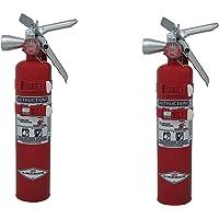 Amerex TYF B385TS, 2.5lb Halotron I Class B C Fire Extinguisher Pack of 2