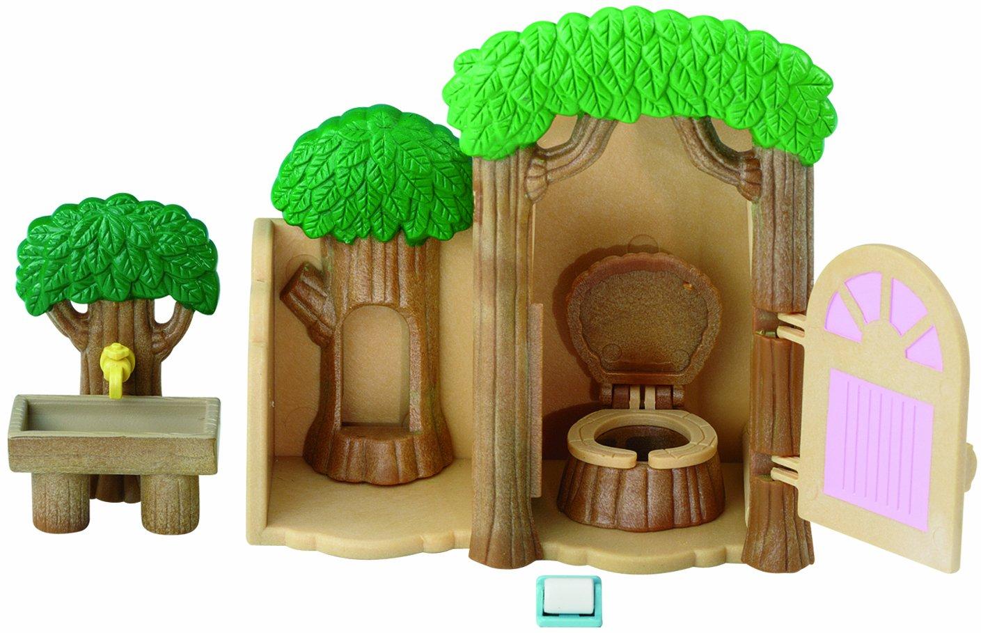 EPOCH Sylvanian Family 2687 - Kit de árbol con baño en miniatura Epoch D' enfance