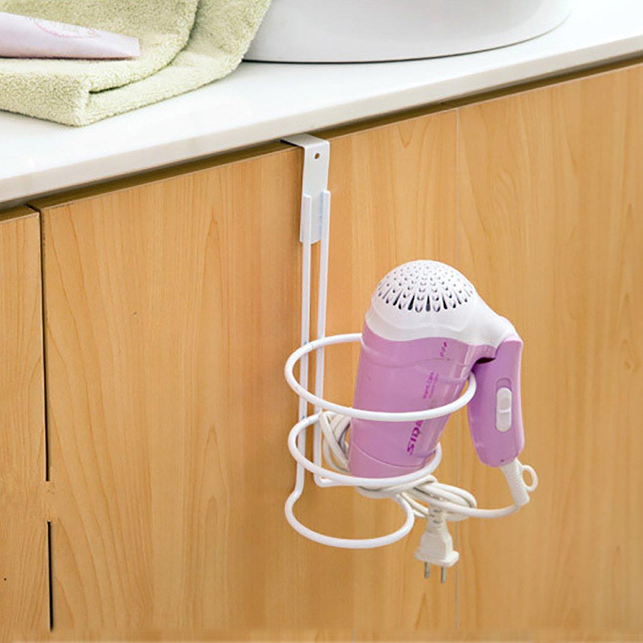 THEE Hair Dryer Holder Back Door Hang Organize