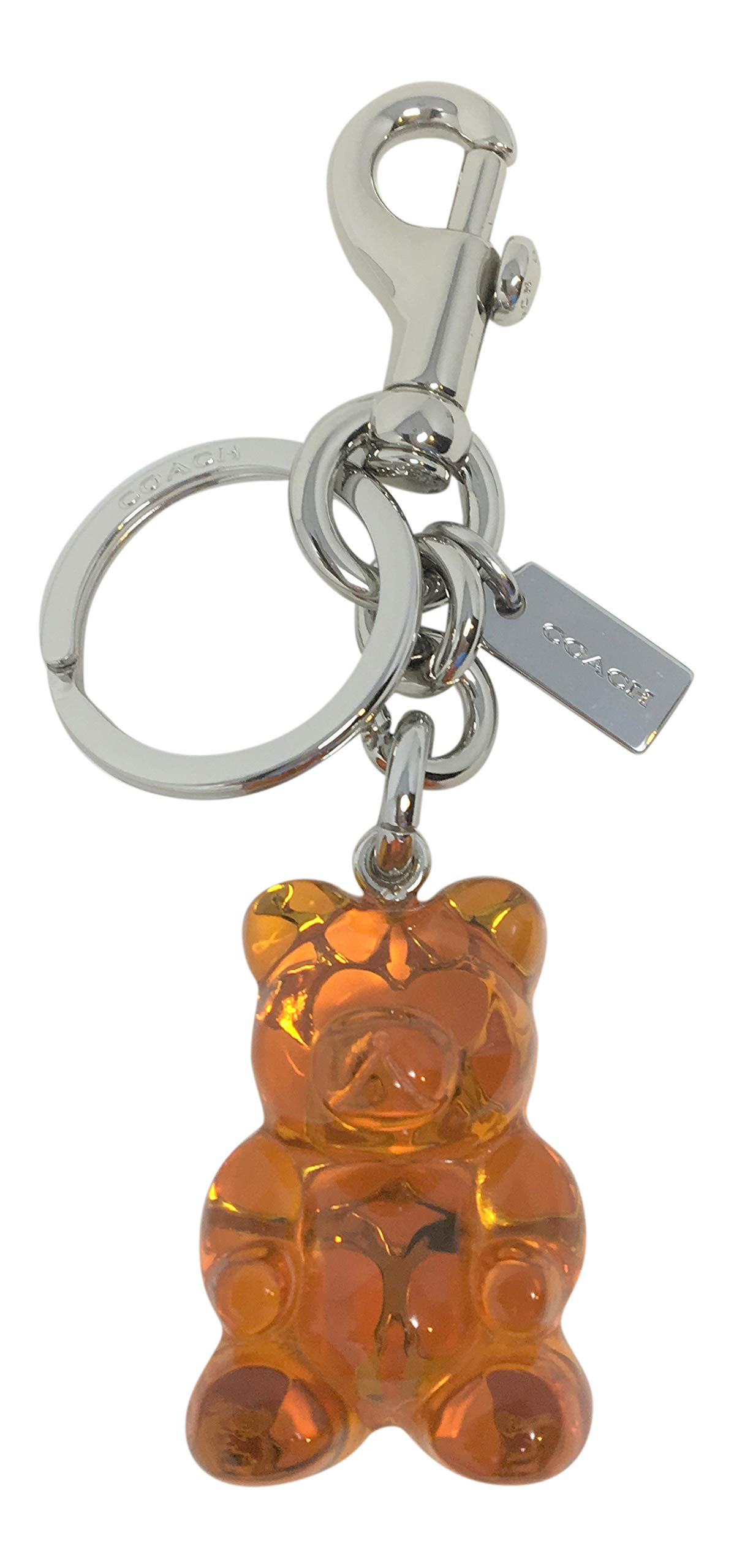 Coach Gummy Bear Bag Charm Key Chain Orange F77683 by Coach