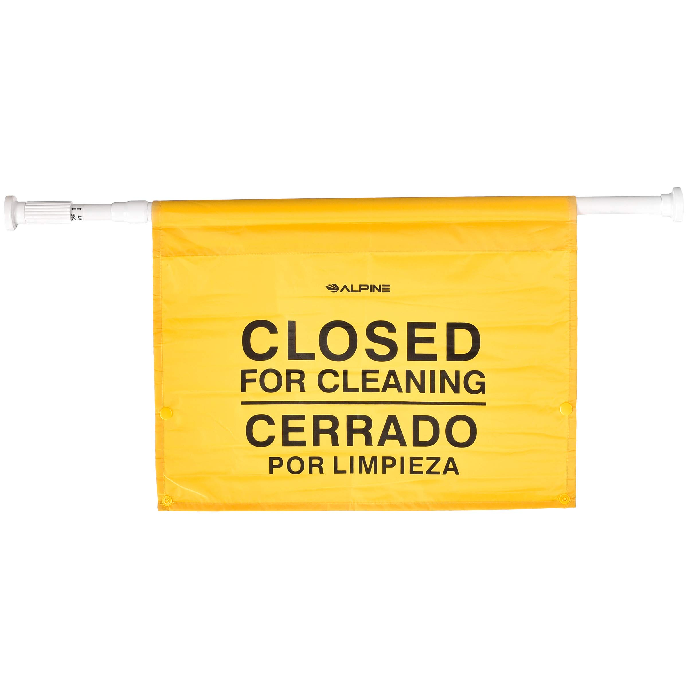 "Alpine Industries ""Closed for Cleaning"" Hanging Safety Sign - Heavy Duty Warning Precaution - for Establishments and Commercial Use"