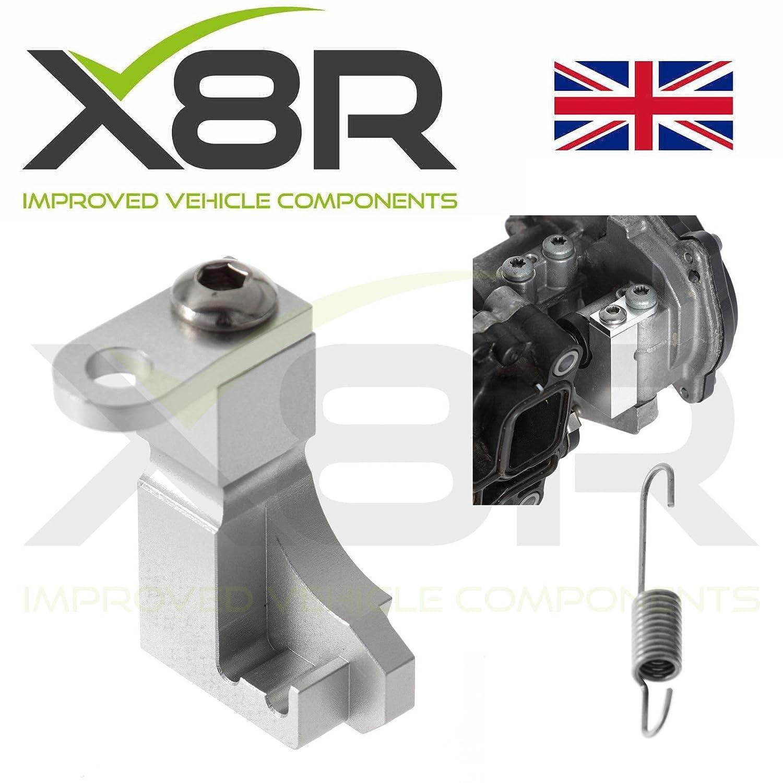 colector de admisió n P2015 ERROR Tapa Motor del actuador reparació n soporte para ALUMINIO Colector X8R LTD