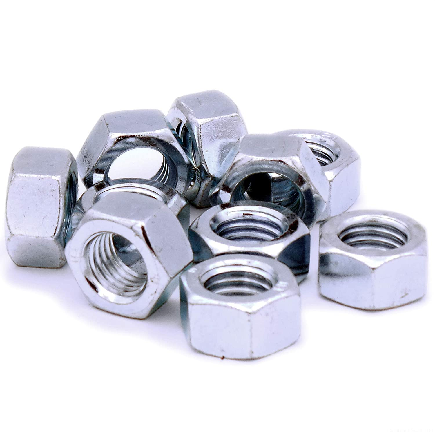 M4 (4mm) Hex Nuts - Steel (Pack of 100) Singularity Supplies Ltd