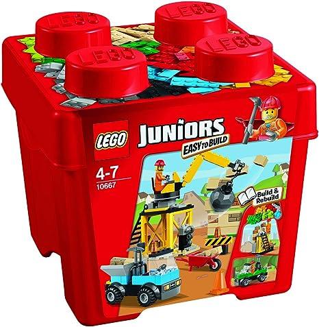 LEGO Juniors - Set de 4 Ladrillos creativos, Multicolor (10667): Amazon.es: Juguetes y juegos