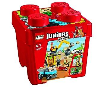 De Juniors Du Chantier 10667 Boîte Jeu Construction Lego Kul13FcTJ