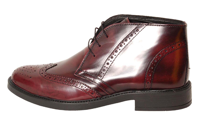 Antica Calzoleria Campana Schuhe   Mod. 1495     Lackoptik   Brogue   braun, schwarz oder dunkelrot 97fd15
