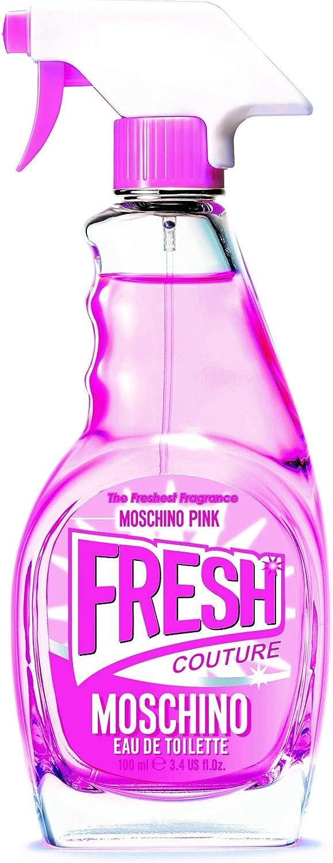 Moschino Fresh Couture Rose Agua de Colonia Para Mujeres, 100 mililitros: Amazon.es: Belleza